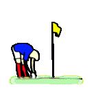 サッカー選手スタンプ(個別スタンプ:9)