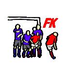 サッカー選手スタンプ(個別スタンプ:10)