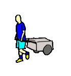 サッカー選手スタンプ(個別スタンプ:39)