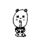 シュールなパンダ(個別スタンプ:28)