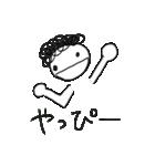 かつらちゃんとかつらくん(個別スタンプ:7)