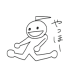 かつらちゃんとかつらくん(個別スタンプ:12)