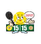テニスをする人 2(個別スタンプ:07)