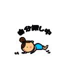 ウクレレガールとPナップルくん(個別スタンプ:02)