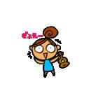 ウクレレガールとPナップルくん(個別スタンプ:03)