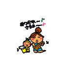 ウクレレガールとPナップルくん(個別スタンプ:05)