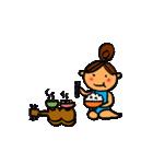 ウクレレガールとPナップルくん(個別スタンプ:16)