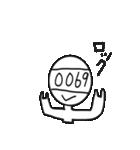 Mr. 四桁(個別スタンプ:15)