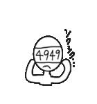 Mr. 四桁(個別スタンプ:22)