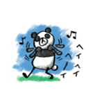 Do your best. Panda man(個別スタンプ:03)