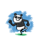Do your best. Panda man(個別スタンプ:12)