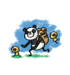 Do your best. Panda man(個別スタンプ:27)