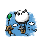 Do your best. Panda man(個別スタンプ:36)