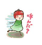 りんご姫の日常 第2弾 【ポジティブ編】(個別スタンプ:11)