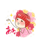 りんご姫の日常 第2弾 【ポジティブ編】(個別スタンプ:22)