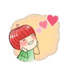りんご姫の日常 第2弾 【ポジティブ編】(個別スタンプ:24)