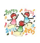 りんご姫の日常 第2弾 【ポジティブ編】(個別スタンプ:35)