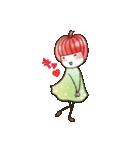りんご姫の日常 第2弾 【ポジティブ編】(個別スタンプ:36)