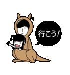 """ガールフレンド""""part3""""(個別スタンプ:40)"""