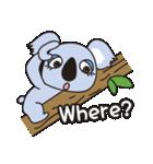 コアラ♥(個別スタンプ:01)