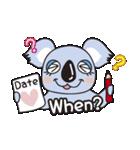 コアラ♥(個別スタンプ:04)