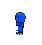青いやつ3(日本語バージョン)(個別スタンプ:06)