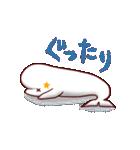 白イルカのベルカちゃん(個別スタンプ:24)