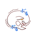 白イルカのベルカちゃん(個別スタンプ:27)