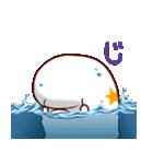 白イルカのベルカちゃん(個別スタンプ:30)