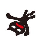 オーバーアクション黒猫2(個別スタンプ:40)