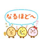 ぴよこ3兄妹(個別スタンプ:30)