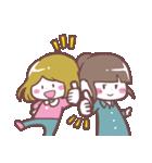 かわいいふたりの女の子(個別スタンプ:5)