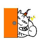 お灸猫「文太」vol.3 リアクション編(個別スタンプ:13)