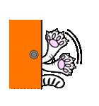 お灸猫「文太」vol.3 リアクション編(個別スタンプ:14)