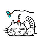 お灸猫「文太」vol.3 リアクション編(個別スタンプ:15)