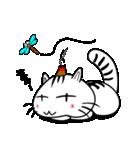 お灸猫「文太」vol.3 リアクション編(個別スタンプ:17)