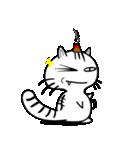 お灸猫「文太」vol.3 リアクション編(個別スタンプ:18)