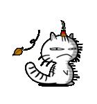 お灸猫「文太」vol.3 リアクション編(個別スタンプ:19)