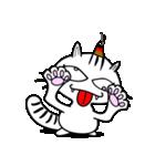 お灸猫「文太」vol.3 リアクション編(個別スタンプ:21)