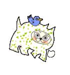 涙・ときどき ・青い鳥(個別スタンプ:03)