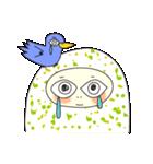涙・ときどき ・青い鳥(個別スタンプ:04)