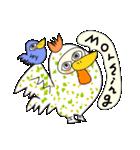 涙・ときどき ・青い鳥(個別スタンプ:07)