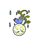 涙・ときどき ・青い鳥(個別スタンプ:09)
