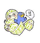 涙・ときどき ・青い鳥(個別スタンプ:25)