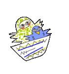 涙・ときどき ・青い鳥(個別スタンプ:27)