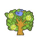 涙・ときどき ・青い鳥(個別スタンプ:34)