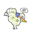 涙・ときどき ・青い鳥(個別スタンプ:35)