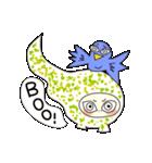 涙・ときどき ・青い鳥(個別スタンプ:37)