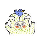 涙・ときどき ・青い鳥(個別スタンプ:40)