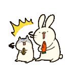 ウサ吉とハム郎とピヨ助。(個別スタンプ:05)